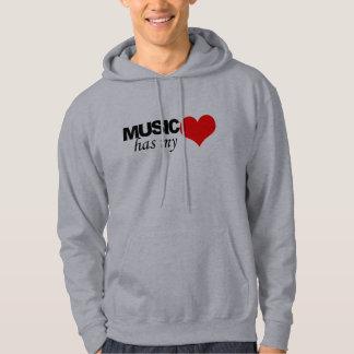 MUSIC HAS MY HEART HOODIE