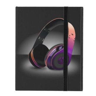 Music Headphones Case Case For iPad