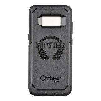 Music Headphones Hipster OtterBox Commuter Samsung Galaxy S8 Case