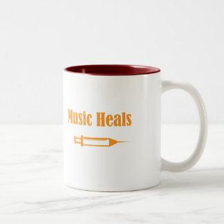 Music Heals Mug
