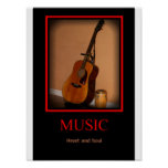 Music - Heart and Soul Poster
