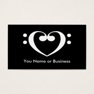Music Heart Business Card