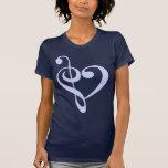 Music Heart Tshirts