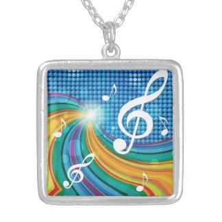 Music Illustration necklace