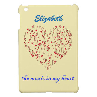 music in my heart iPad mini case