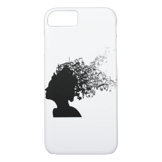 Music in my mind iPhone 7 case