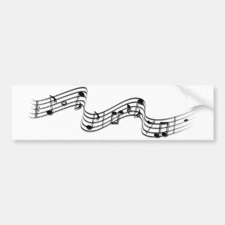 music in the air bumper sticker