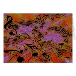 MUSIC IN THE AIR CARD