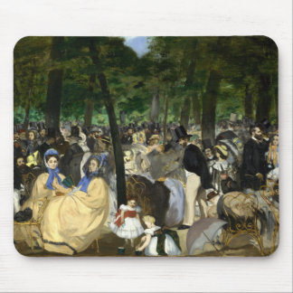 Music in the Tuileries Garden - Edouard Manet Mouse Pad