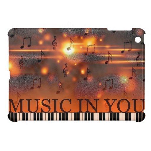 Music In You iPad Mini Cover