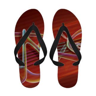 Music Inspired Flip Flops