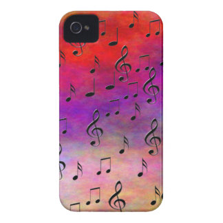 Music  Instruments  notes dance tunes radio keys iPhone 4 Case-Mate Cases