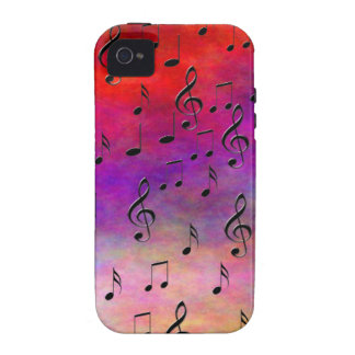 Music  Instruments  notes dance tunes radio keys iPhone 4 Cover
