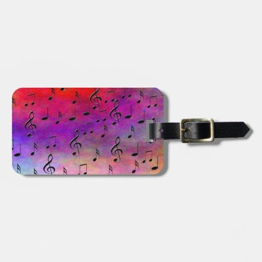 Music Instruments notes dance tunes radio keys Luggage