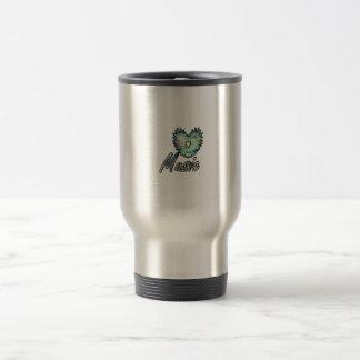 Music invert heart wing below nebula 1 coffee mugs