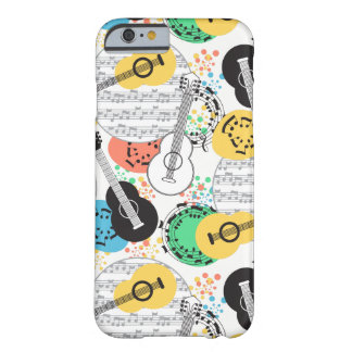 Music iPhone 6/6s Barely There iPhone 6 Case