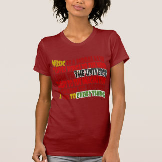 Music is a Moral Law Tshirts