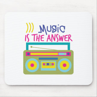 Music Is Answer Mouse Pad