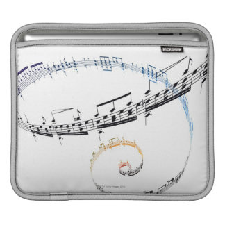Music is Based on Fanataisie iPad Sleeve