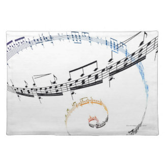 Music is Based on Fanataisie Placemat