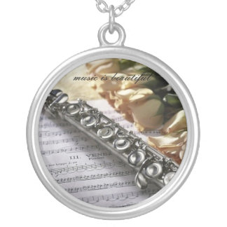 Music is beautiful necklace