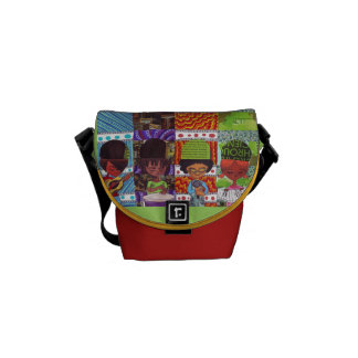 Music is Everything Messenger Bag