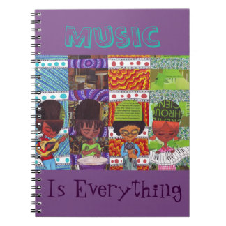 Music is Everything Notebook