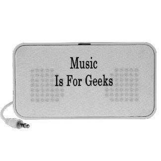 Music Is For Geeks iPod Speaker