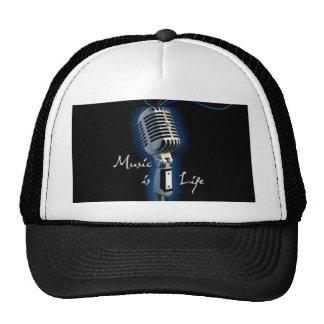 Music is Life Cap