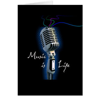 Music is Life Card