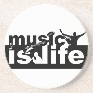 Music is life coaster - customize