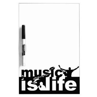 MUSIC IS LIFE custom message board