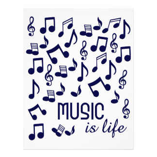 Music is Life flyer