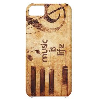 Music is Life iPhone 5C Case