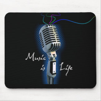 Music is Life Mouse Pad