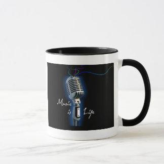 Music is Life Mug