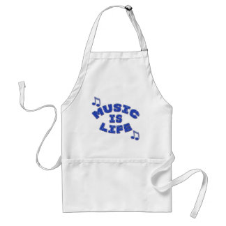 Music is Life Standard Apron