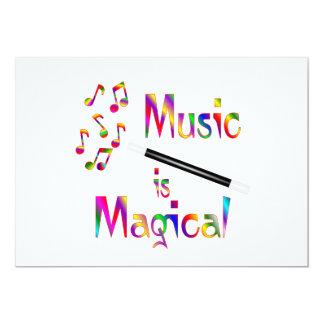 Music is Magical Card