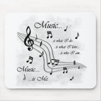Music Is Me Mouse Mat