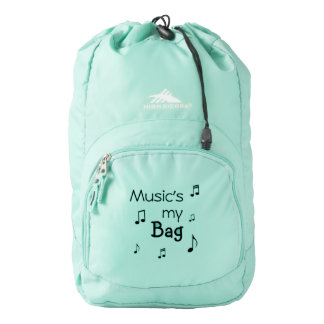 Music is my Bag funny pun