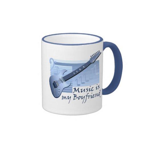 Music is my Boyfriend T-shirts and Gifts. Mugs