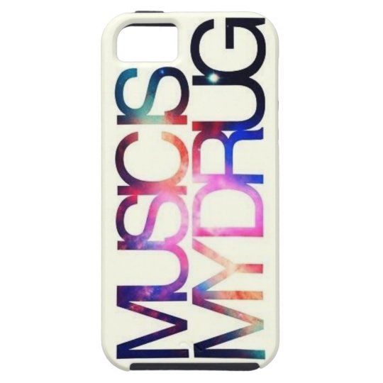 MUSIC IS MY DRUG iPhone 5 CASE