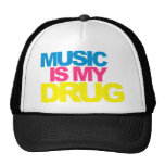 Music Is My Drug Trucker Hat