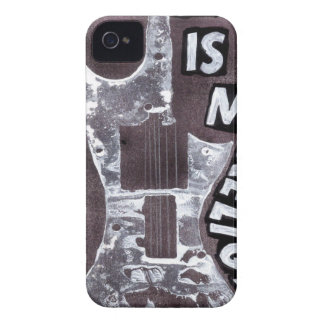Music IS my religion iPhone 4 Case-Mate Cases