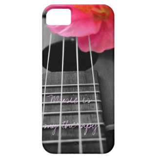 Music is my therapy iPhone 5 covers