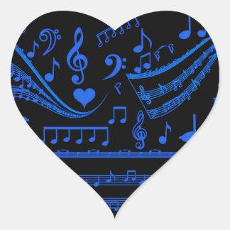 Music is my world_ heart sticker