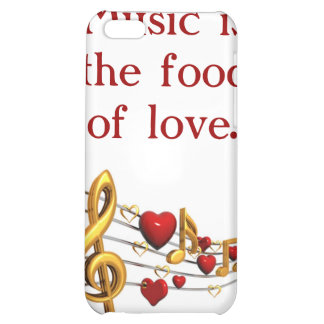 Music Is The Food Cover For iPhone 5C