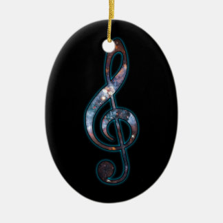 Music is Universal Christmas Ornament