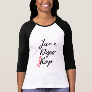 music jazz gangsta rap disco music lover shirt