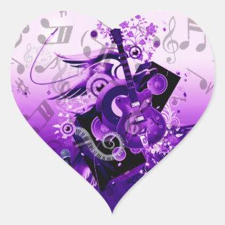 Music Journey_ Heart Sticker